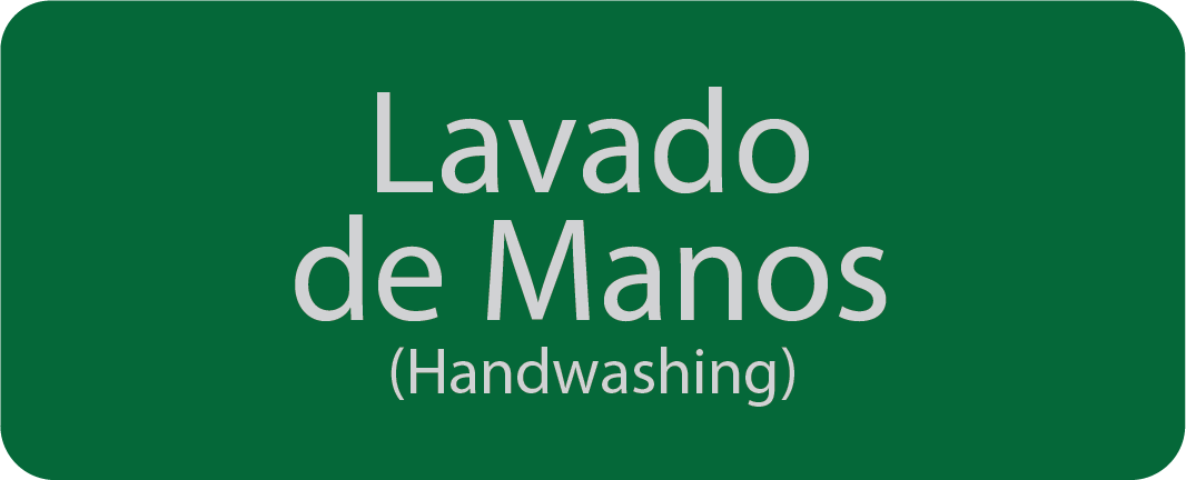 Spanish Handwashing badge