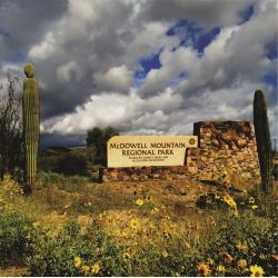 McDowell Mountain Regional Park entry